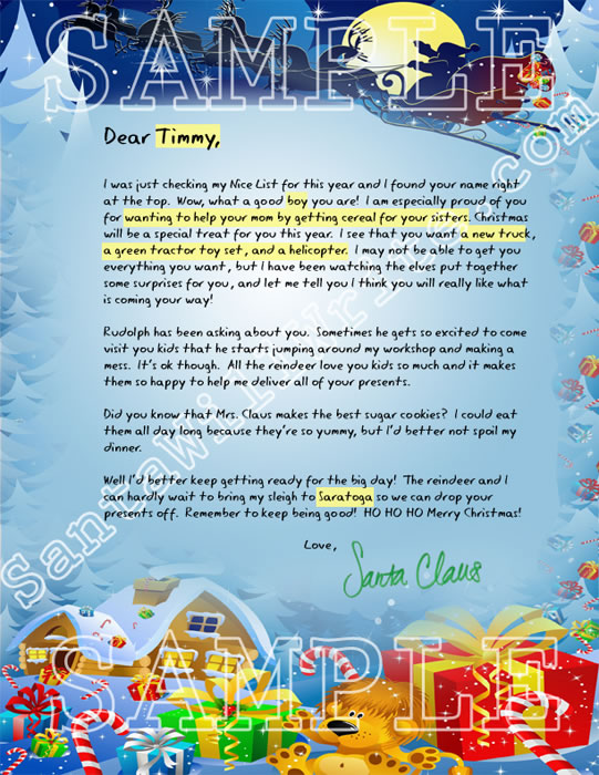 How To Write Good Christmas Letters Business Plan Review
